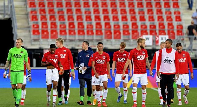Fox Sports Olanda, l'inviato: L'AZ è partito con 19 giocatori! Napoli favorito, ma non sarà una partita regolare