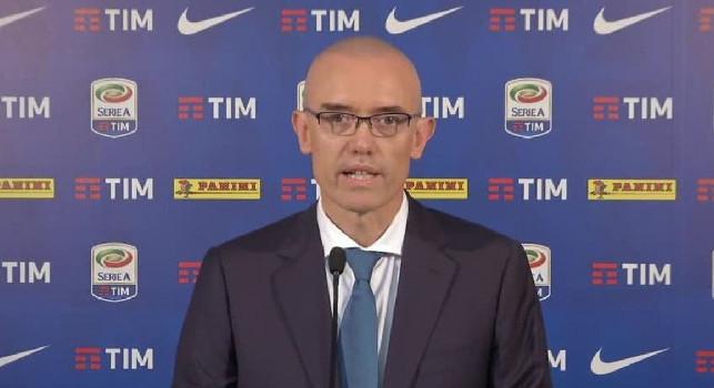 Serie A, il Giudice Sportivo: Per la decisione su Juve-Napoli mi sono ritrovato in prima pagina, i siti dei tifosi cercano di tutto per denigrare