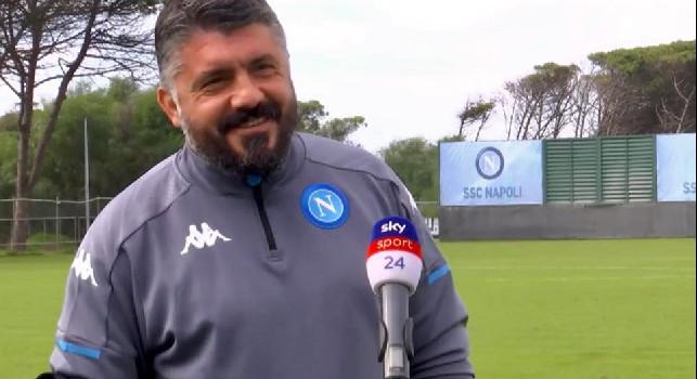 AZ-Napoli, le immagini dell'allenamento di rifinitura degli azzurri è [VIDEO]