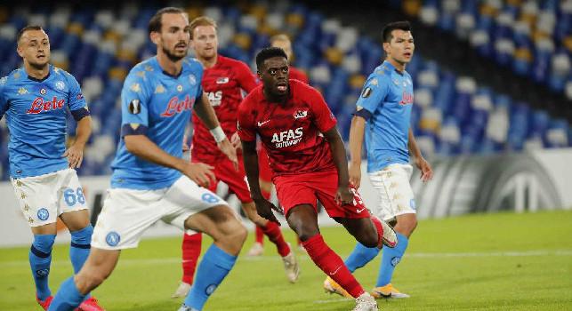 AZ Alkmaar, Martins Indi: Abbiamo lottato col Napoli! Concesso poco, dobbiamo essere orgogliosi e fieri