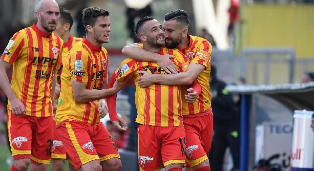Benevento, Insigne all'intervallo: Sono molto emozionato, ma peccato aver trovato il mio primo gol contro mio fratello