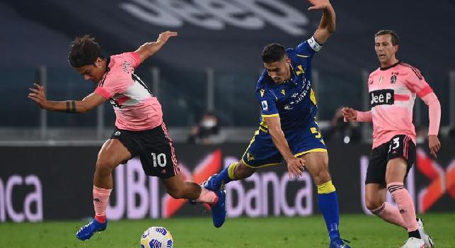 Serie A, Juventus-Hellas Verona 1-1: la classifica non si muove, Napoli secondo ad un punto dal Milan [FOTO]