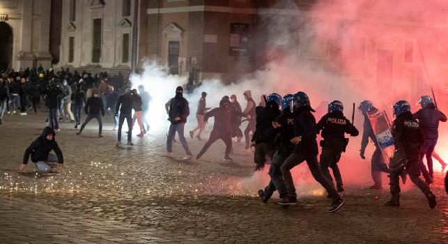 Repubblica - Un esercito di 1200 violenti dietro la guerriglia scatenata in città