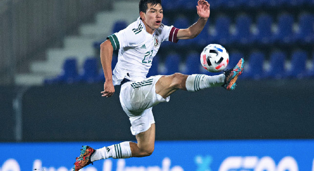 Messico-Corea del Sud 3-2, 83' in campo senza gol per Hirving Lozano