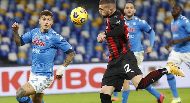 Napoli-Milan, le statistiche