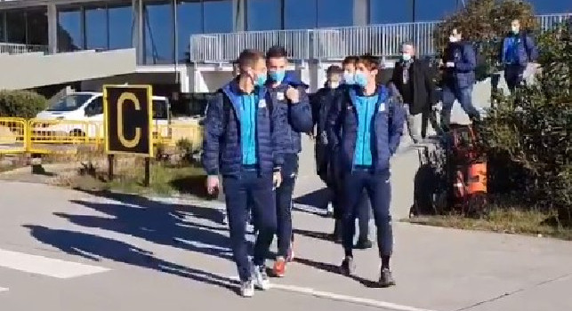 Europa League, il Rijeka è in partenza per Napoli [VIDEO]