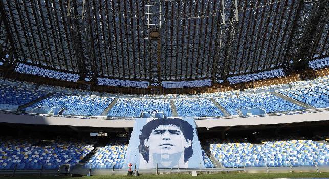 Napoli-Cagliari: anche questa sera la Curva B diserterà lo stadio Maradona