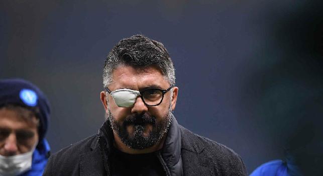 Gattuso bendato e l'Insigne furioso: le emozioni di Inter-Napoli 1-0 [FOTOGALLERY CN24]