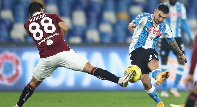 Pagelle Napoli-Torino: Insigne si sveglia nel finale, Llorente desaparecido! Politano dimenticabile, Fabian irritante