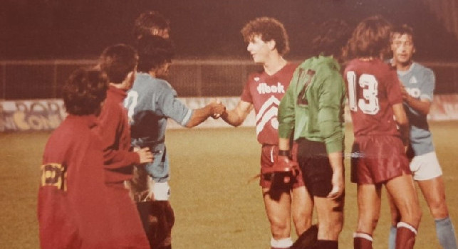 Come ca**o devo fermarti?. Butti racconta Maradona: Fui il primo a marcarlo in Italia con l'Arezzo: il San Paolo rischiava di crollare al suo esordio. Magia su punizione? Potevamo metterci anche un muro... [ESCLUSIVA]