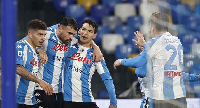La gioia effimera di Petagna ed il nuovo look dello stadio Maradona: le emozioni di Napoli-Spezia 1-2 [FOTOGALLERY CN24]