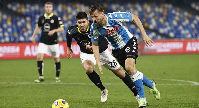 Schira: Napoli sempre più orientato a tenere Llorente fino a giugno, Gattuso lo ha apprezzato molto