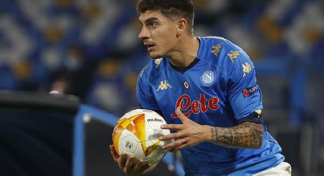 Udinese-Napoli, giallo per Di Lorenzo! Era diffidato, salta la Fiorentina