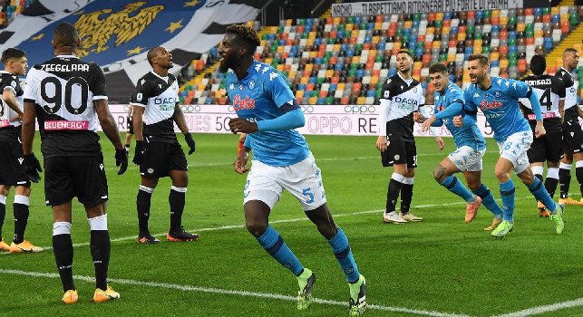 78^ sfida in Serie A tra Udinese e Napoli, ultimo successo esterno dei bianconeri il 17 aprile 2011