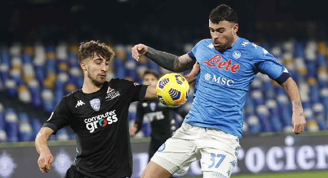 Il commento della SSC Napoli: Guizzo decisivo di Petagna! Di Lorenzo gol da attaccante vero, assalto generoso e ordinato nel finale
