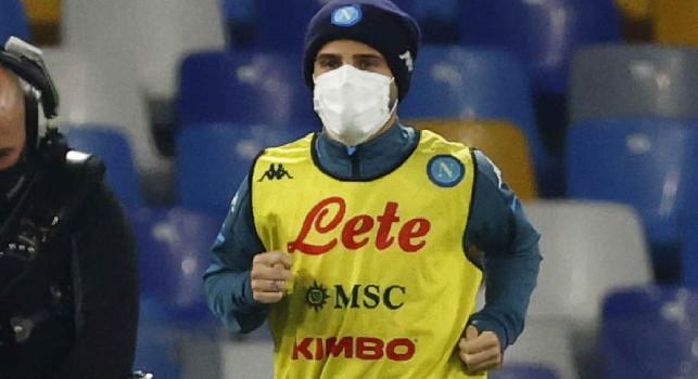 Dall'Insigne 'mascherato' alle forme di...Lobotka: le emozioni di Napoli-Empoli 3-2 [FOTOGALLERY CN24]