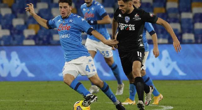 Il commento dell'Empoli: Non ci disuniamo dopo l'1-0, gran destro di Bajrami! Non ci diamo per vinti dopo il 3-2