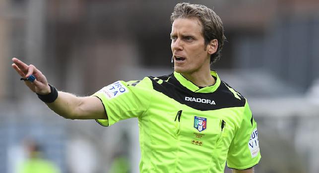 UFFICIALE - Napoli-Fiorentina, arbitra Chiffi e Di Bello sarà al Var: questa la sestina completa