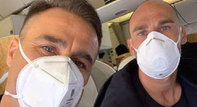 I fratelli Paolo e Fabio Cannavaro