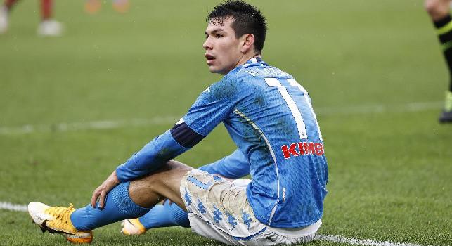 Gazzetta su Lozano: era arrivato per sostituire Insigne, ora ci gioca insieme e stupisce per l'efficacia in zona gol