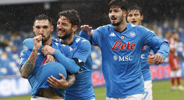 Il commento della SSC Napoli: Ce n'è per per tutti i gusti nel pomeriggio succulento del Maradona. Adesso il 4° atto della Supercoppa...