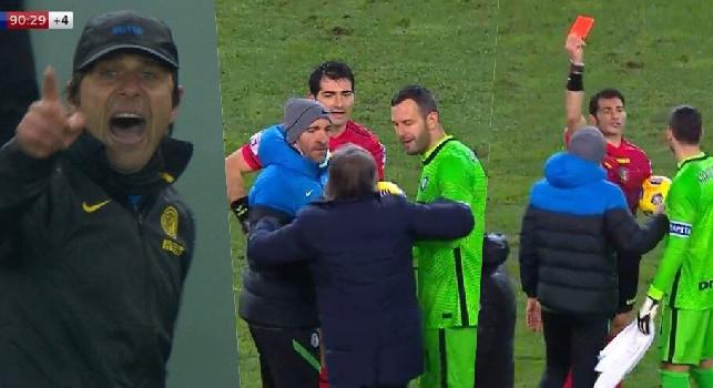 Udinese-Inter, espulso anche Oriali. Caos nel tunnel, Maresca: Dovete accettare quando non riuscite a vincere
