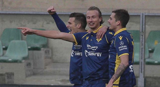 Il Verona commenta: Partita perfetta, rimonta strepitosa! Nel finale non rischiamo nulla contro il Napoli