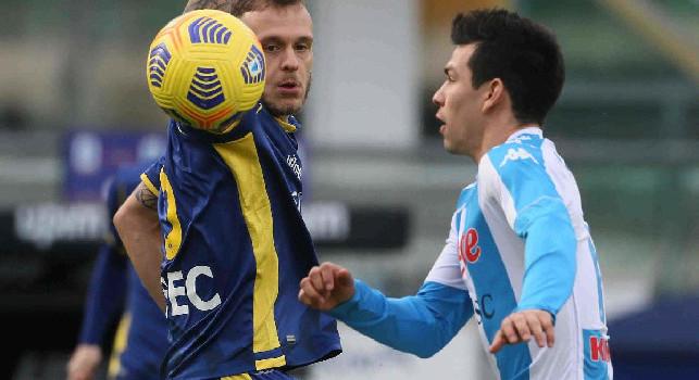 Hellas Verona, Dimarco: Chiedo scusa per l'errore sul goal del Napoli, ma che reazione da parte nostra!