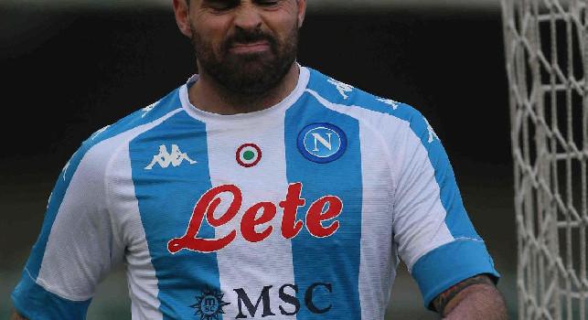 Petagna: Felice di essere tornato in campo. Forza Napoli sempre!