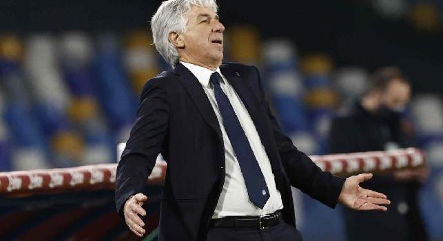 Insulti all'anti-doping, niente squalifica per Gasperini: contro la Juve ci sarà