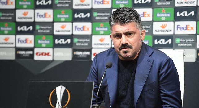 Europa League, domani alle 13.30 Gattuso in conferenza per presentare Napoli-Granada. Alle 18.15 parlano gli spagnoli