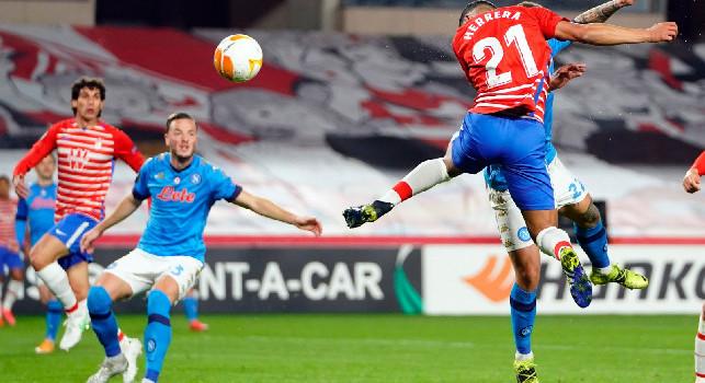 Granada, altro infortunio: Yangel Herrera KO, è in dubbio per il Napoli