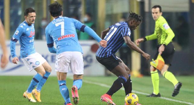 Il commento della SSC Napoli: Ancora una serata amara! Gli azzurri lottano, inseguono e restano in partita per un'ora