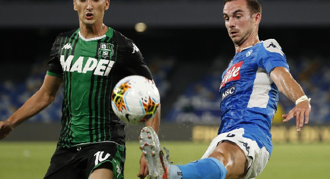 Sassuolo, Djuricic all'intervallo: Abbiamo la partita sotto controllo, il Napoli ha segnato sull'unico tiro fatto