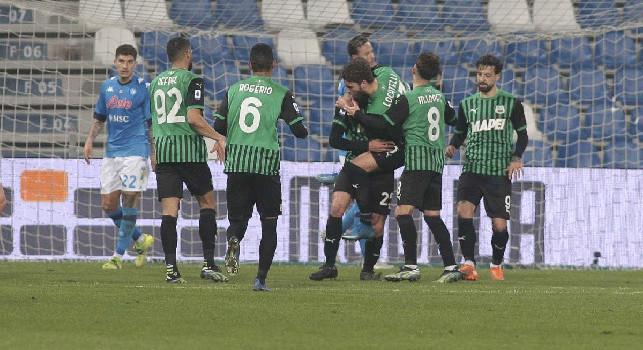 CorSera - Il Napoli si fa gol da solo! Paga dazio per i soliti errori individuali, cali improvvisi di concentrazione