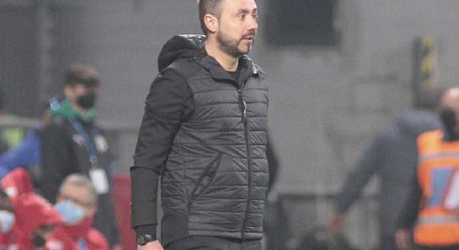 Sassuolo, De Zerbi a DAZN: Dovevamo vincere, sul rigore del 2-3 ho pensato a tante parolacce! Avremmo meritato i tre punti, non siamo riusciti a fermare Insigne