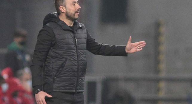 Sassuolo, De Zerbi: Nazionali ancora a casa nonostante negativi, noi pensiamo oltre il calcio