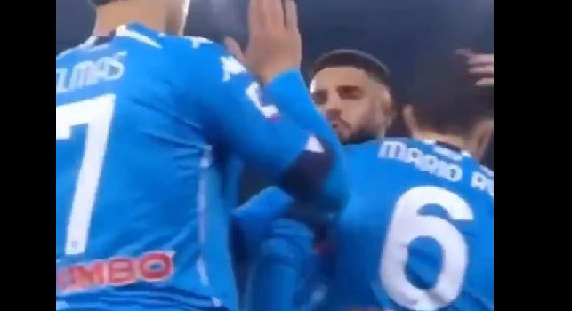 Mario per piacere nun c' facimm' fa o sicond'. L'audio Insigne-Mario Rui è virale [VIDEO]