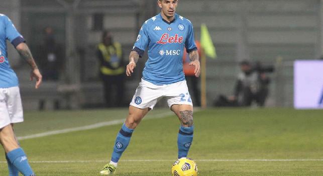 Napoli-Udinese, Di Lorenzo ad un soffio dal vantaggio azzurro