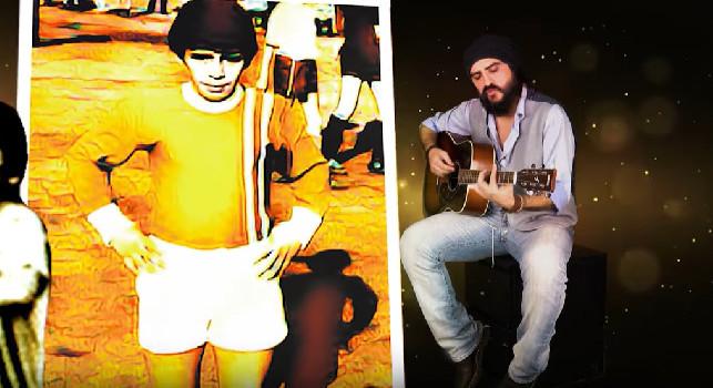 Il cantautore Ross esce col singolo dedicato a Diego Armando Maradona [VIDEO]