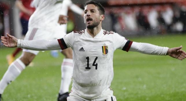 Belgio, Mertens: Meglio l'Italia che gioca tre volte in casa, uno svantaggio giocare in trasferta