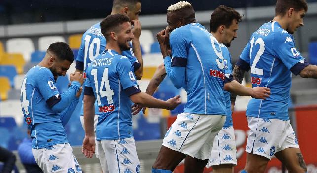 Il Napoli crea tantissimo e vince solo con la giocata di Di Lorenzo: le statistiche del match [GRAFICO]