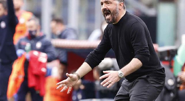 Tuttosport - Juve-Napoli, mini rivoluzione di Gattuso: sette novità dal primo minuto