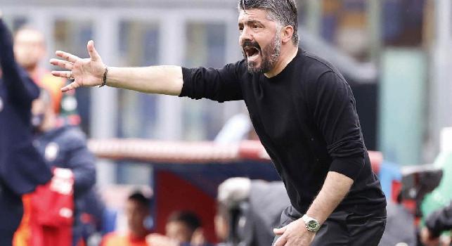 Gazzetta - Il silenzio stampa impedisce a Gattuso di rispondere all'opera di destabilizzazione: Di Lorenzo lo salva da nuove critiche