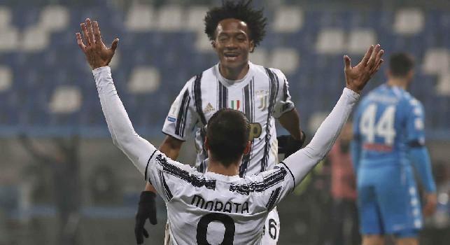 Juventus, Cuadrado suona la carica in vista del Napoli: Dobbiamo rialzarci e restare più uniti che mai!