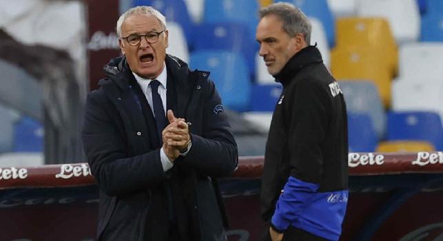 Ranieri prepara la gabbia al gioco del Napoli col 4-4-2: la chiave tattica