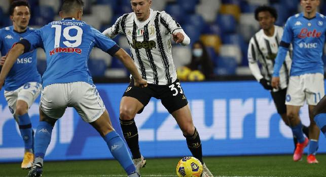UFFICIALE - Juventus, Bernardeschi positivo al Covid-19. In isolamento e asintomatico, club in contatto con le autorità sanitarie