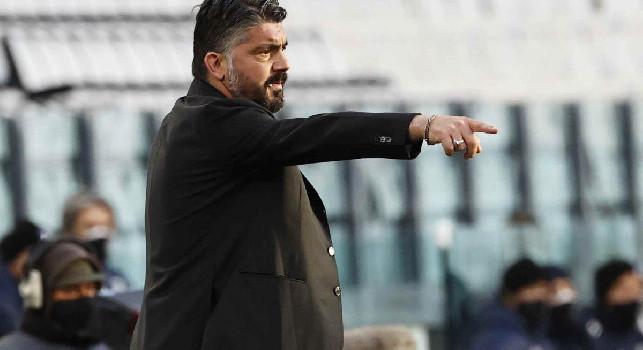 I convocati di Gattuso per la sfida con la Sampdoria