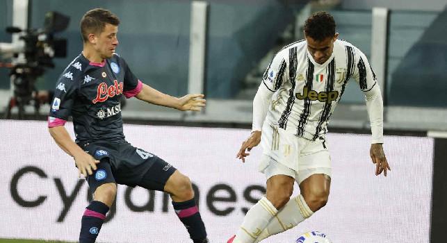 Juventus, Danilo a JTV: Siamo tristi perchè non lottiamo per la testa della classifica. Stasera abbiamo giocato un buon calcio