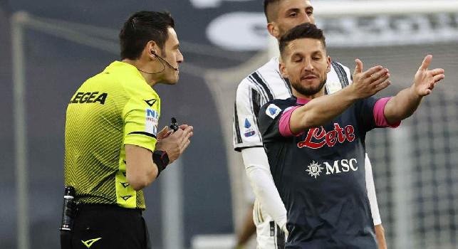 """L'ex arbitro Russo: """"Chiesa colpito fuori dal campo, era rigore lo stesso. Penalty pure su Zielinski. Var in giornata no"""""""